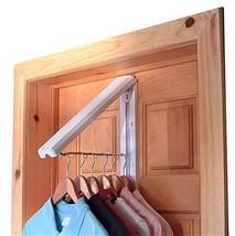 InstaHanger Closet Organizer, The Original Folding Drying Rack, Wall Mount, Incl