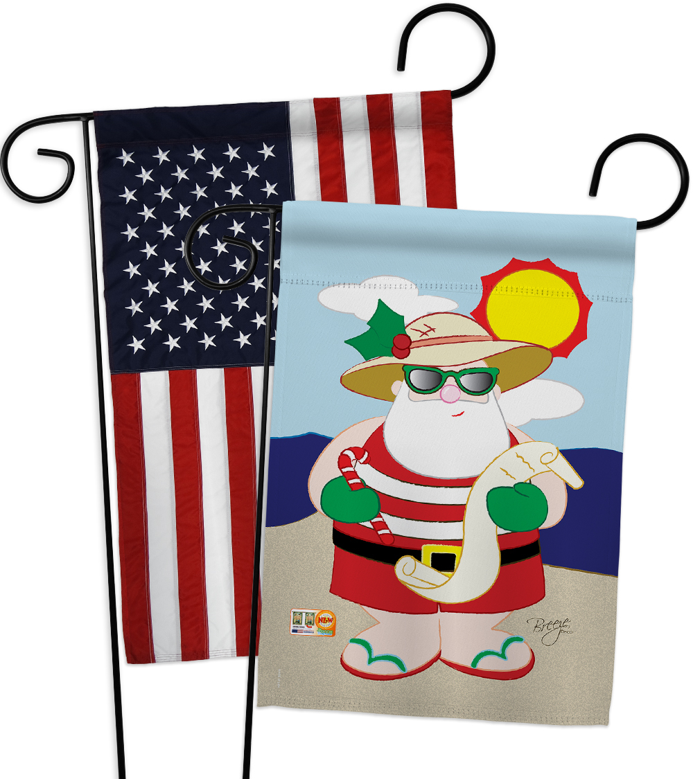 Garden flag christmas gp114062ab