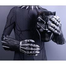 Black Panther Gloves - 2018 Movie Cosplay Costume Prop Handmade Gloves - $39.03