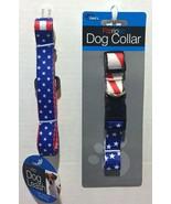 Patriotic Dog Leash & Collar Independance Day Bundle - $8.86