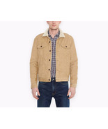 Levi's Men's Classic Corduroy Sherpa Trucker Button Up Jacket - $65.00