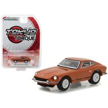 1971 Datsun 240Z 918 Orange Tokyo Torque Series 1 1/64 Diecast Model Car... - $12.46