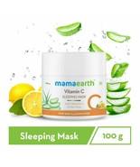 Mamaearth Vitamin C Sleeping Mask, Night Cream For Skin Illumination 100 gm - $20.80