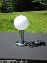 A Beautiful chrome light table lamp(8914) - $88.83