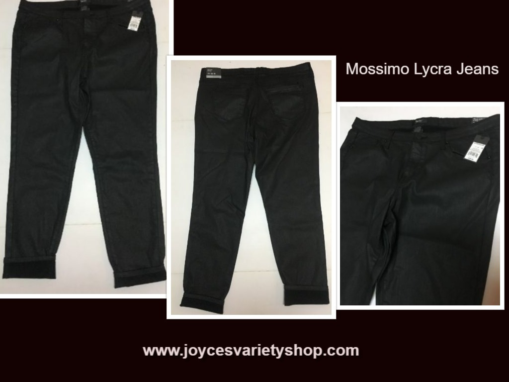 Mossimo lycra jeans web collage