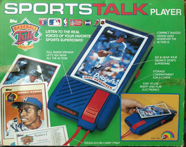 Vintage 1989 Topps Sports Talk Player w/ 4 Cards Mattingly Aaron Hershiser - $69.99