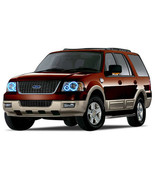 Brightest Blue LED Halo Ring Headlight Kit for Ford Expedition 03-06 - $130.98