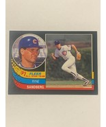 Lot of 6 Ryne Sanberg Baseball Cards (NM) - $5.00