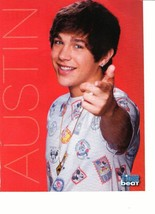 Austin Mahone teen magazine pinup clipping pointing at you Popstar Twist - $3.50