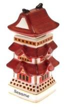 Danbury Mint Spices of the World Japanese Pagoda Sesane CLT767 - $31.84