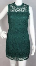 Forever 21 women's mini dress laces green sleeveless polyester size S - $17.88