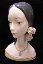 "Lladro Maja Head #4668, 12.25"" Tall, Mint Condition - $325.97"