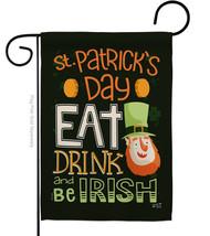 Be Irish - Impressions Decorative Garden Flag G135315-BO - $19.97