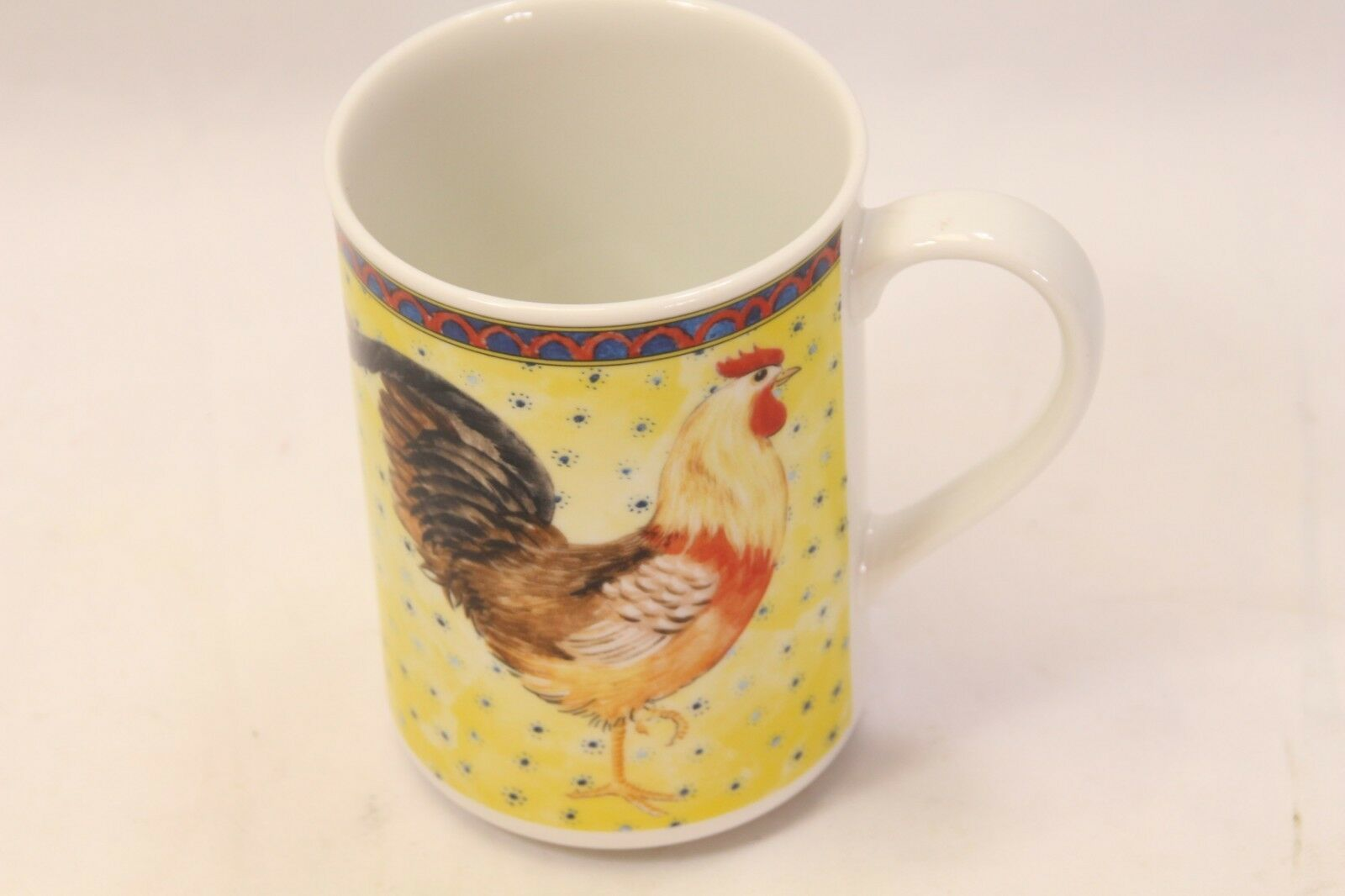 American Atelier Petite Provence Rooster Mugs Set of 12 image 5