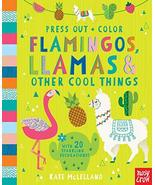 Press Out and Color: Flamingos, Llamas & Other Cool Things (Press Out + ... - $7.38