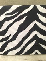 Cynthia Rowley BLACK & WHITE ZEBRA STRIPES TWIN SHEET SET 3PC NIP - $37.62