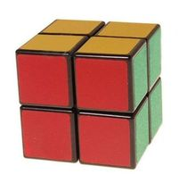 New 1pcs US SENGSO 2x2x2 Puzzle Speed Cube Magic Toys Black Smooth Gift - $5.99