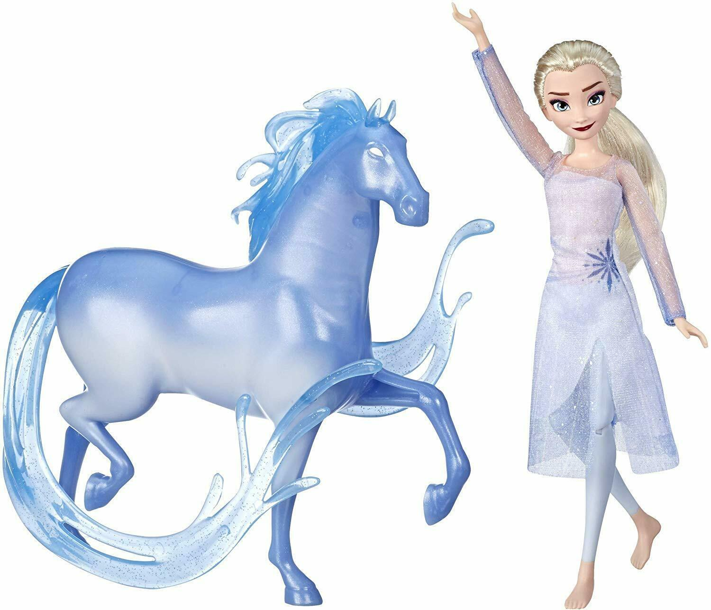 Disney Frozen 2 Elsa Fashion Doll & Nokk Figure Inspired by Frozen 2, Hasbro