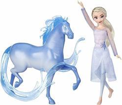 Disney Frozen 2 Elsa Fashion Doll & Nokk Figure Inspired by Frozen 2, Ha... - $36.99
