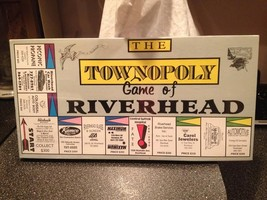 The Townopoly Game of Riverhead Family Board Game Brand New Sealed - $79.99