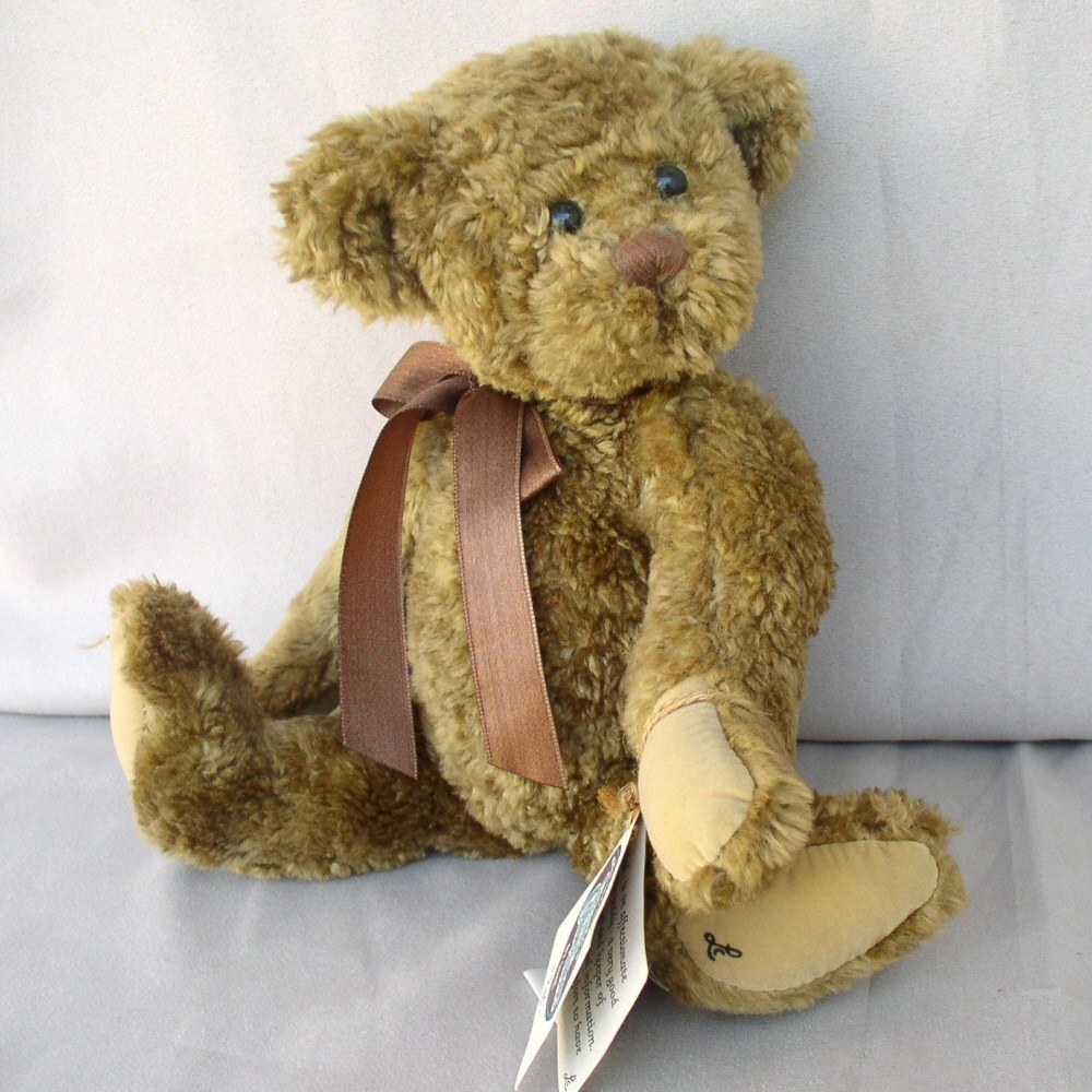 Cottage Collectibles Bear Ned by Ganz