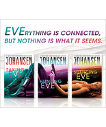 Taking Eve Hunting Eve & Silencing Eve by Iris Johansen ~ Lot of 3 HB - $22.00