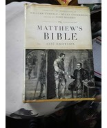 Matthew's Bible-OE-1537 by John Rogers (English) Hardcover Book Free Shi... - $66.31