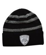 Florida Panthers Fanatics NHL Reflective Sneaker Knit Cuffed Black Winter Hat - $20.85
