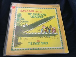 Roald Dahl Lee The Enormous Crocodile Original Caedmon LP Record TC 1633... - $18.80