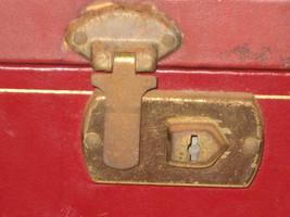 Mele burgundy box  lock thumb200
