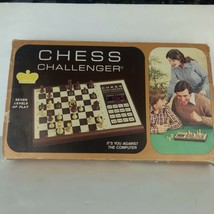 Vintage Fidelity Electronic Computer Chess Challenger Game Working NO Pi... - $29.69