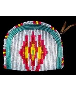 Old Native American Indian Beaded Coin Change Purse - $65.00