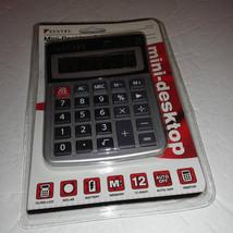 Sentry P/N: CA272 12-Digit LCD Display Mini-Desktop Calculator, Battery/... - $5.30