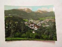 Siegsdorf obb mit Hochfelin und Hochgern Continental Sized Postcard - $2.49