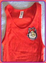 NEW  XLarge Orange ANGRY BIRDS Girl Tee T SHIRT Tank Top Women Junior Ha... - $8.99
