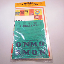 Vintage I Believe! Mormon Board Game, LDS, Finch Family Games 1989, Sealed - $22.94