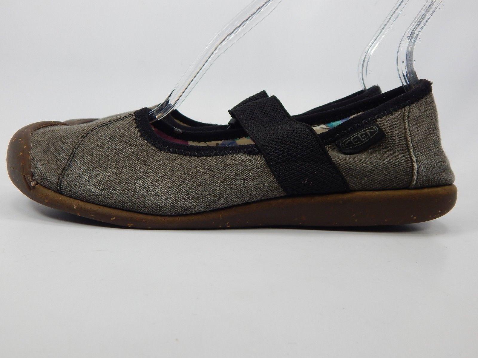 Keen Sienna Mary Jane Size: US 8.5 M (B) EU 39 Women's Canvas Shoe Black 1014731