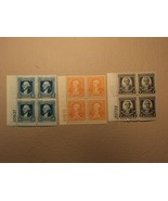 USPS Scott 710 711 712 Washington Bicentennial Issue Plate Block 1932 Mi... - $86.16