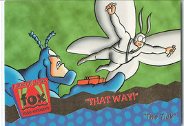 The Tick That Way 1995 Fleer 22 Animated TV Series Ungraded Trading Card - $22.24