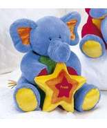 "Baby Gund Tutti Frutti 8"" Blue Elephant, Display Item-NO MUS - $16.50"