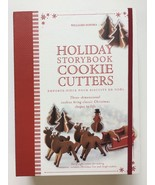 Williams Sonoma Christmas Holiday Storybook 3D Cookie Cutters Set 8 - $21.46