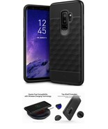 Galaxy S9 Plus Slim Case Dual Layer Superior Protection Secure Grip Blac... - $24.99