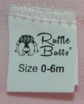 RuffleButts RLKP1000000 Infants Pink Ruffle Footless Tights Size 0 to 6 Months image 3