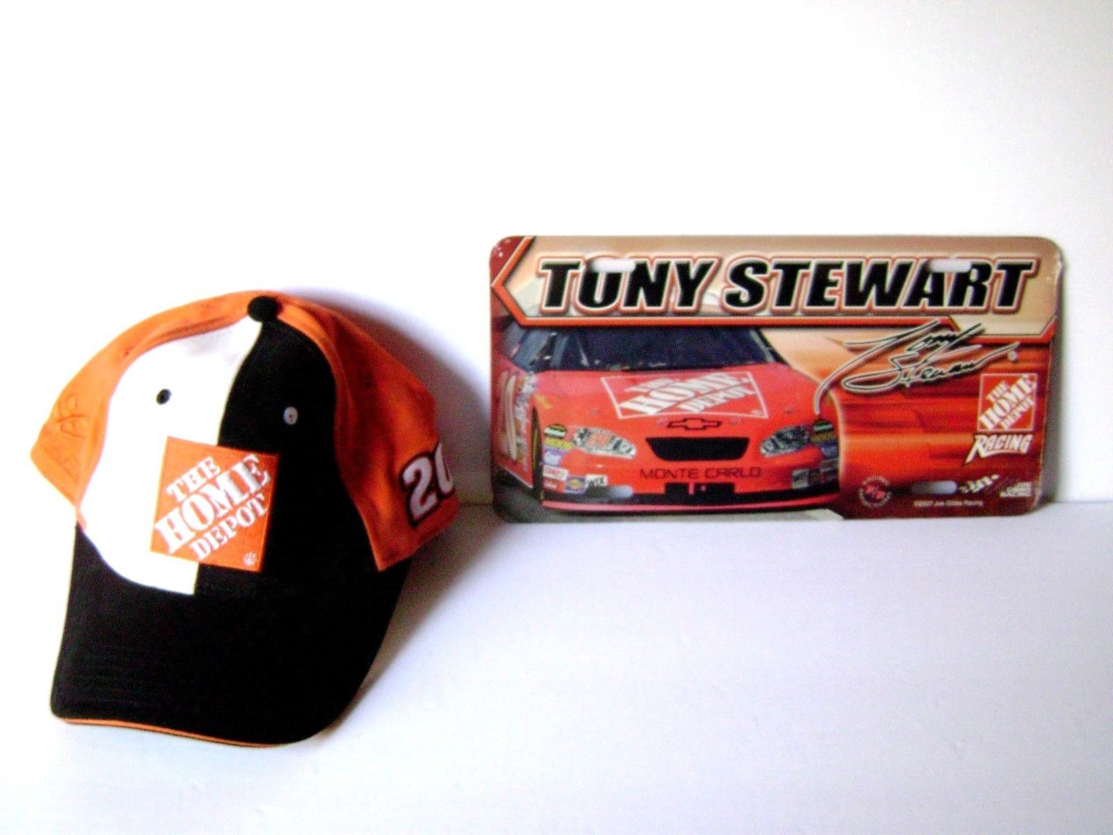 cb513cb8f576c NASCAR   20 Tony Stewart Cap Hat And Metal and 50 similar items