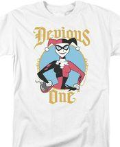 DC Comics Harley Quinn Devious One Graphic Tee Suicide Squad Joker Batman BM2886 image 3