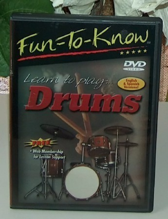 Fun-to-Know Learn to Play Drums DVD