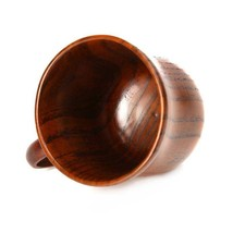 Natural Wooden Coffee Mug Wood Tea Cup 250ml Classic Wood Cups and Mugs ... - $18.69