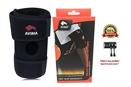 AVIMA BEST Non-Bulky Durable Neoprene Wrap Knee Brace Support - Protects Further - $56.98