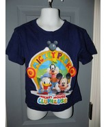 Disney Store Navy Blue Mickey Mouse Clubhouse T-Shirt Size 2T Youth EUC - $22.00