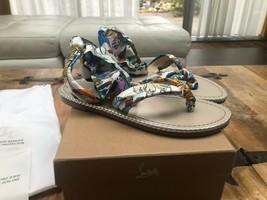 Christian Louboutin Spetsos White Sandals New - $699.00